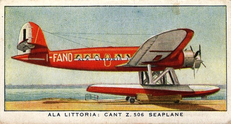 1936 Player's International Air Liners #28 (1)