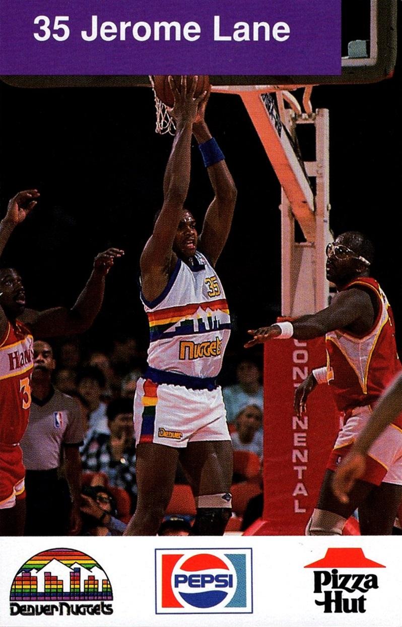 1988-89 Denver Nuggets Police #35 (1)