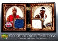 2007-08 Artifacts Conference Pairings Chauncey Billups-Larry Hughes (1)