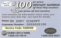 Discount Coupon for Friends and Family to Use!!! When planning an OAT Adventure mention my name and customer number!!!