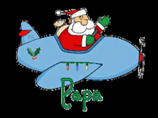 Papa - SantaPlane