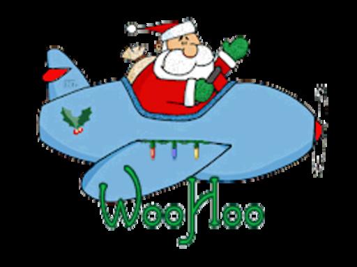 WooHoo - SantaPlane