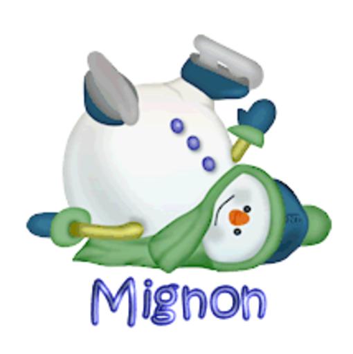 Mignon - CuteSnowman1318