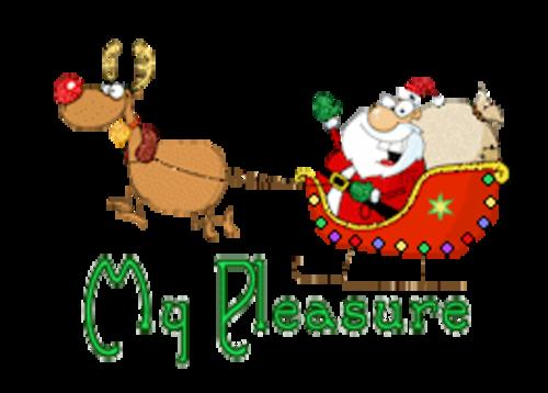My Pleasure - SantaSleigh