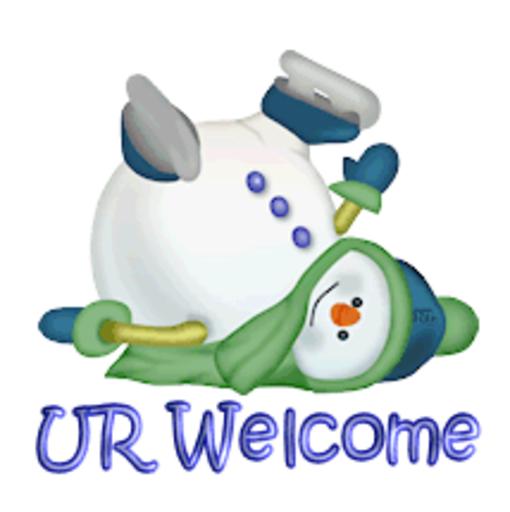 UR Welcome - CuteSnowman1318