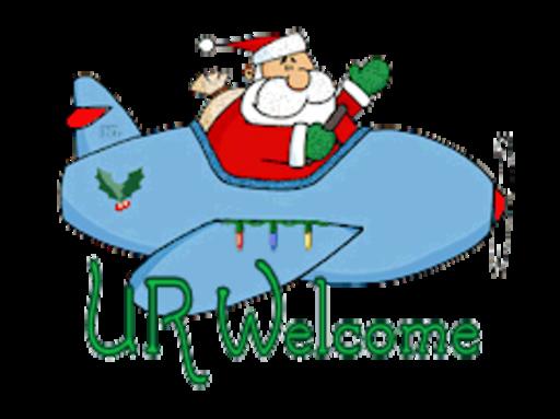 UR Welcome - SantaPlane