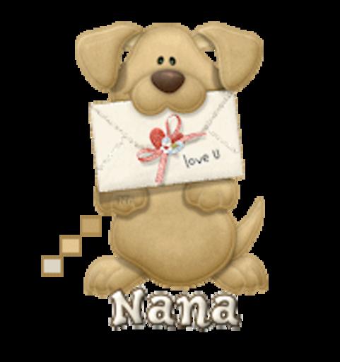 Nana - PuppyLoveULetter
