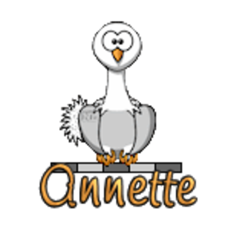 Annette - OstrichWithBlinkie
