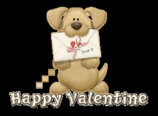 Happy Valentine - PuppyLoveULetter