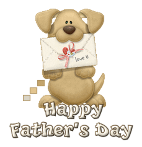Happy Father's Day - PuppyLoveULetter
