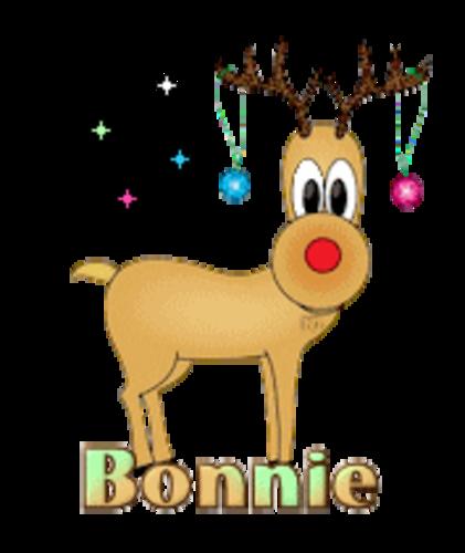 Bonnie - ChristmasReindeer