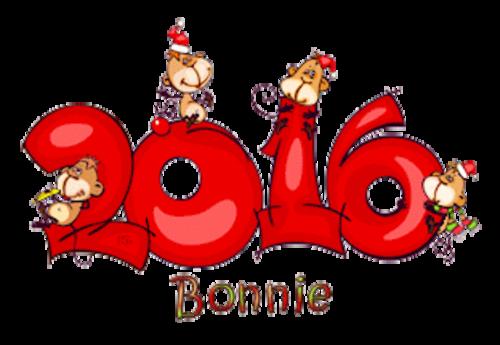 Bonnie - 2016WithMonkeys