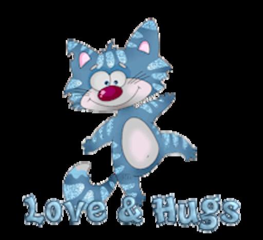 Love & Hugs - DancingCat