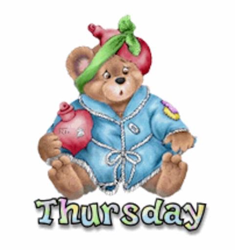 DOTW Thursday - BearGetWellSoon