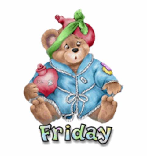 DOTW Friday - BearGetWellSoon