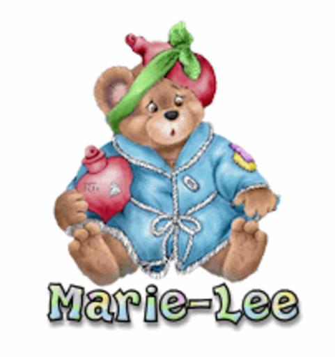 Marie-Lee - BearGetWellSoon