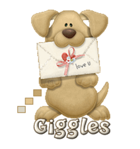 Giggles - PuppyLoveULetter