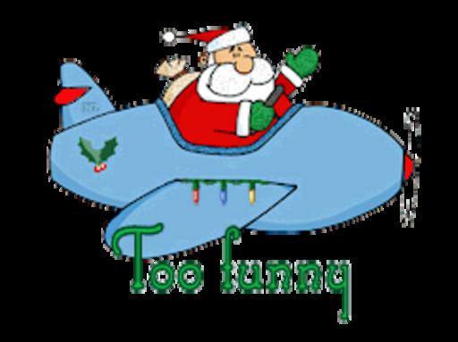 Too funny - SantaPlane