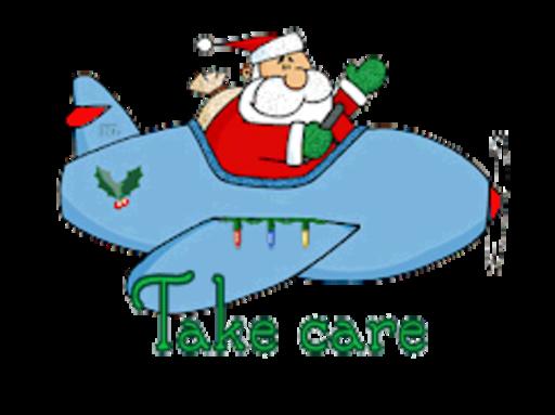 Take care - SantaPlane