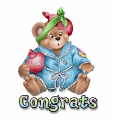 Congrats - BearGetWellSoon