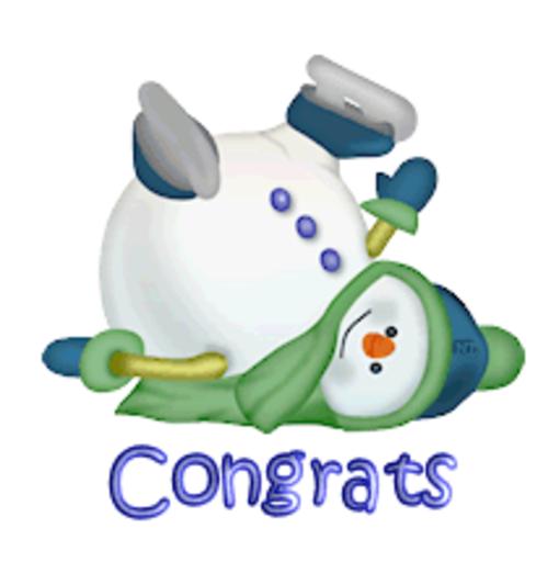 Congrats - CuteSnowman1318