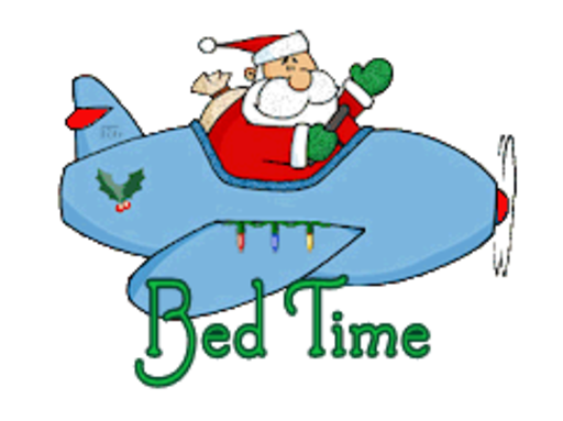 Bed Time - SantaPlane