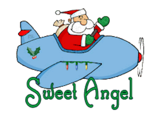 Sweet Angel - SantaPlane