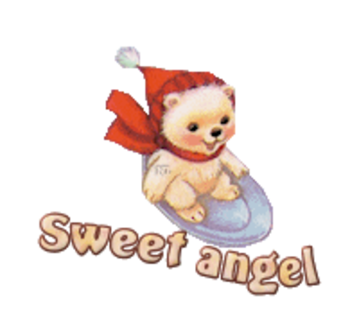 Sweet angel - WinterSlides
