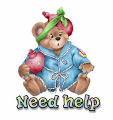 Need help - BearGetWellSoon