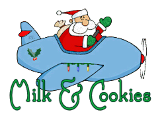 Milk & Cookies - SantaPlane