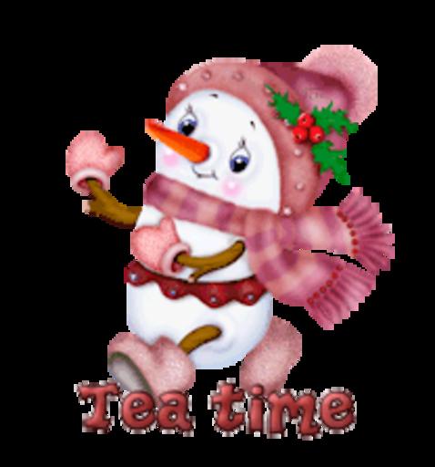 Tea time - CuteSnowman