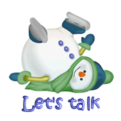 Let's talk - CuteSnowman1318