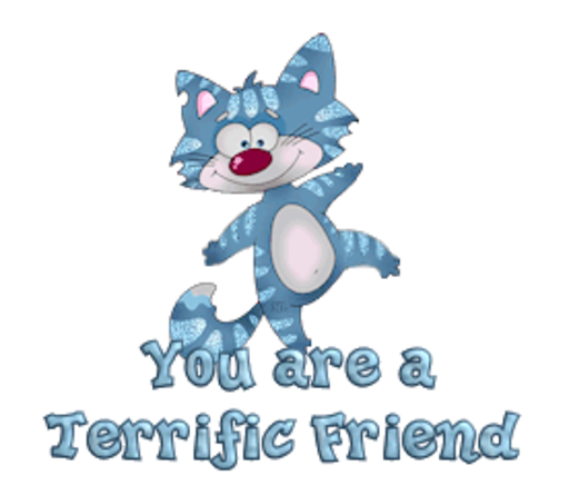 You are a Terrific Friend - DancingCat