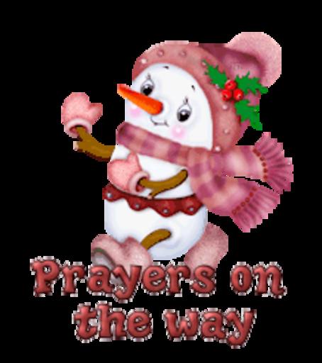 Prayers on the way - CuteSnowman