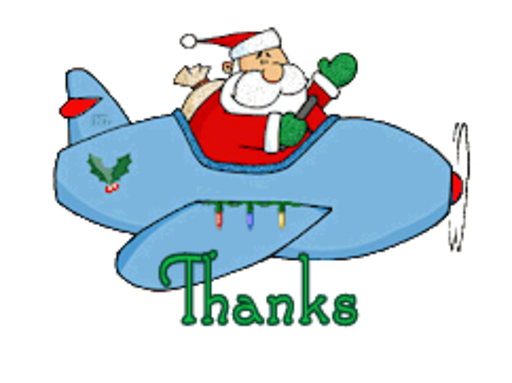 Thanks - SantaPlane