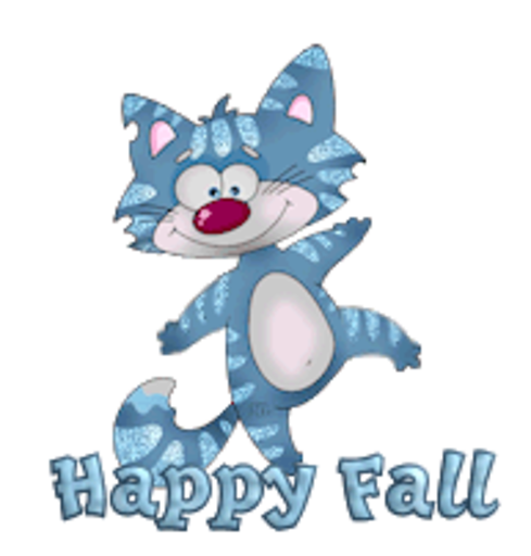 Happy Fall - DancingCat