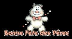 Bonne Fete des Peres - HuggingKitten NL16