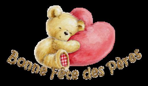 Bonne Fete des Peres - ValentineBear2016