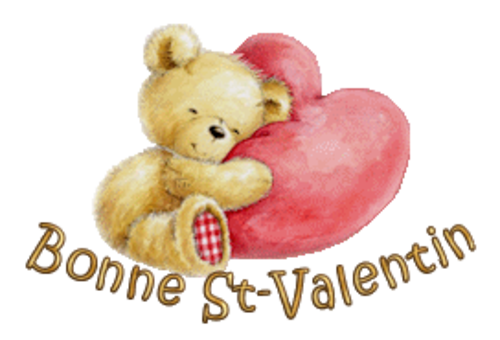 Bonne St-Valentin - ValentineBear2016