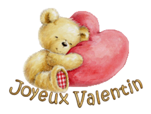 Joyeux Valentin - ValentineBear2016