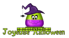 Joyeuse Halloween - CandyCornWitch