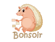 Bonsoir - CutePorcupine