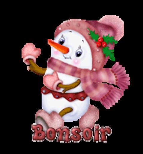Bonsoir - CuteSnowman