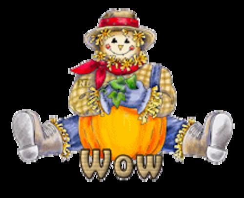 Wow - AutumnScarecrowSitting