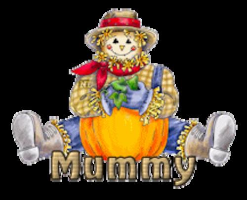 Mummy - AutumnScarecrowSitting