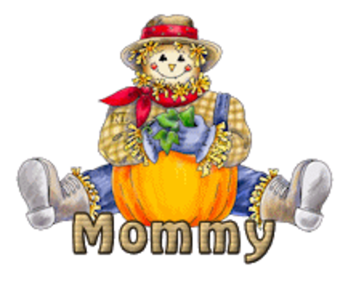 Mommy - AutumnScarecrowSitting