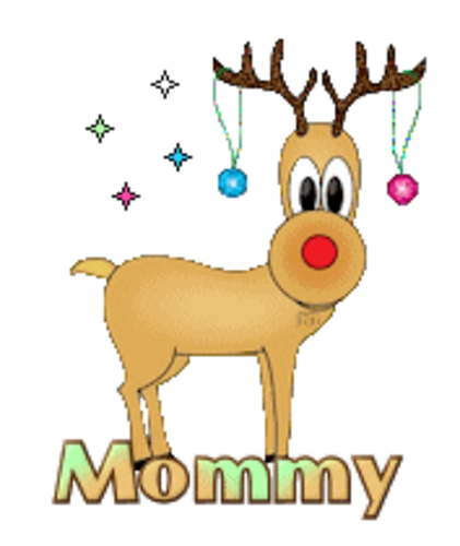 Mommy - ChristmasReindeer