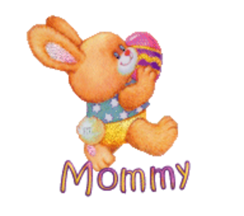 Mommy - EasterBunnyWithEgg16