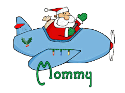 Mommy - SantaPlane