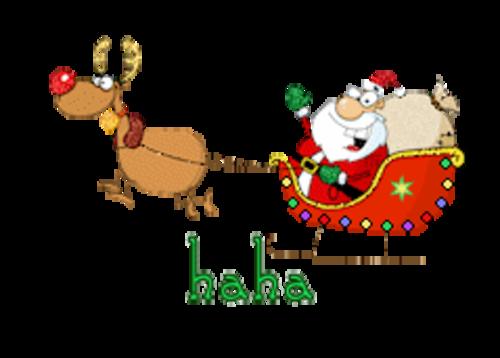 haha - SantaSleigh